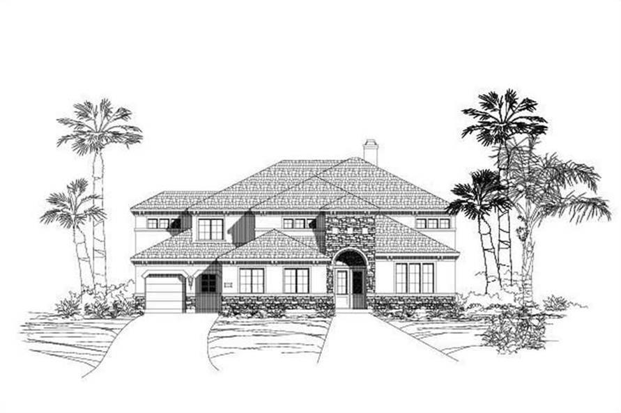 Main image for house plan # 15274