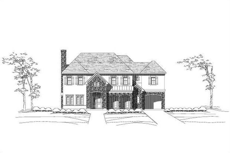 Main image for house plan # 15282