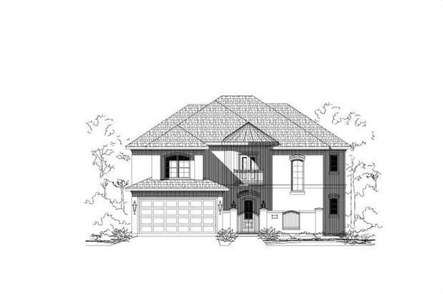 Main image for house plan # 15311