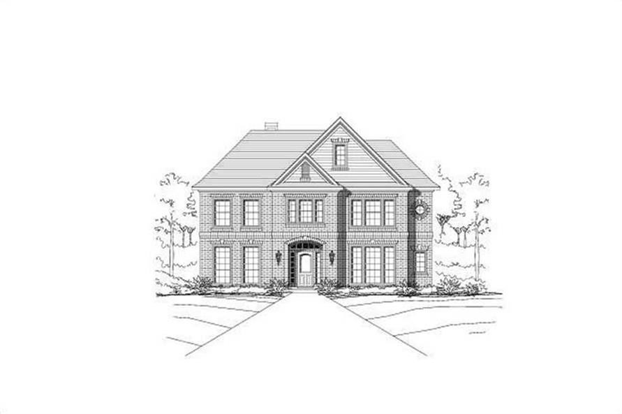 Main image for house plan # 15099