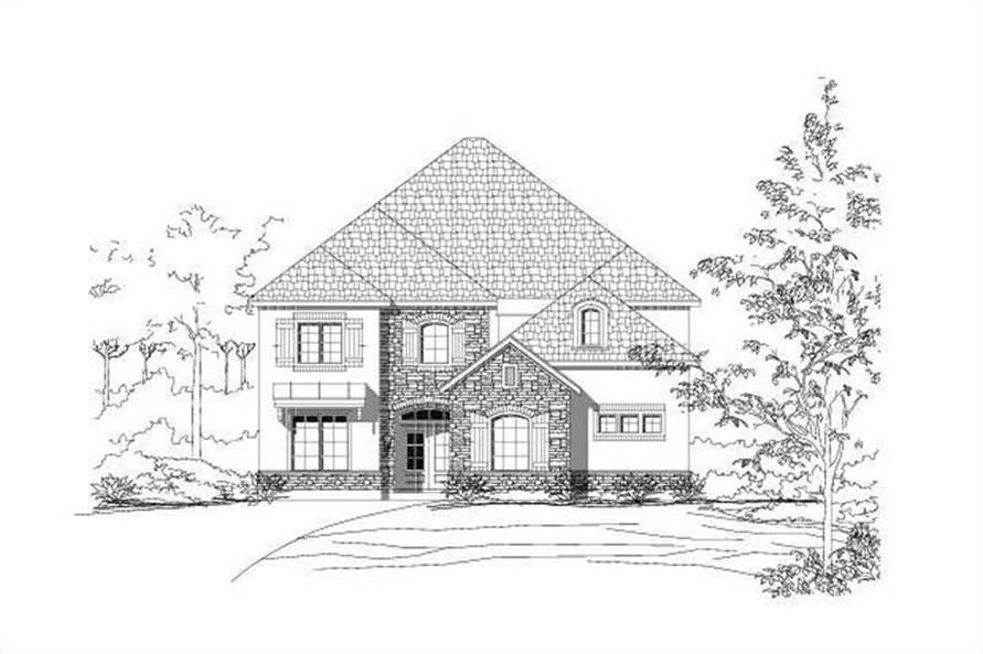 Main image for house plan # 15084
