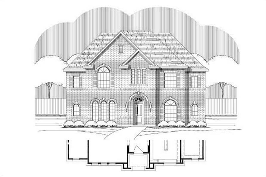 Main image for house plan # 15097