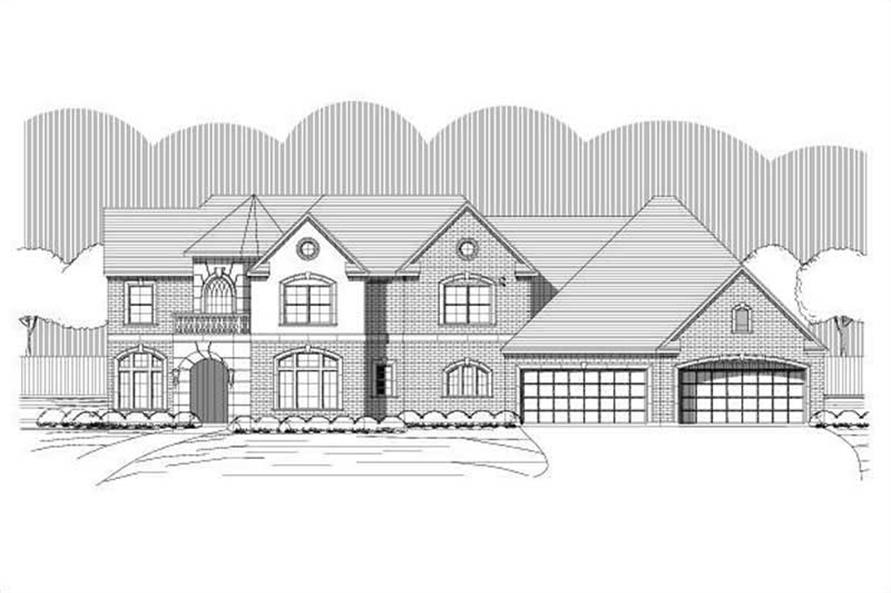 Main image for house plan # 15226