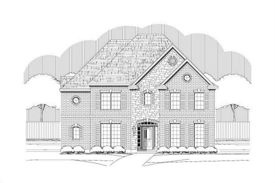 Main image for house plan # 15181