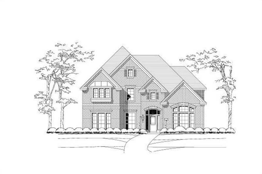 Main image for house plan # 15185