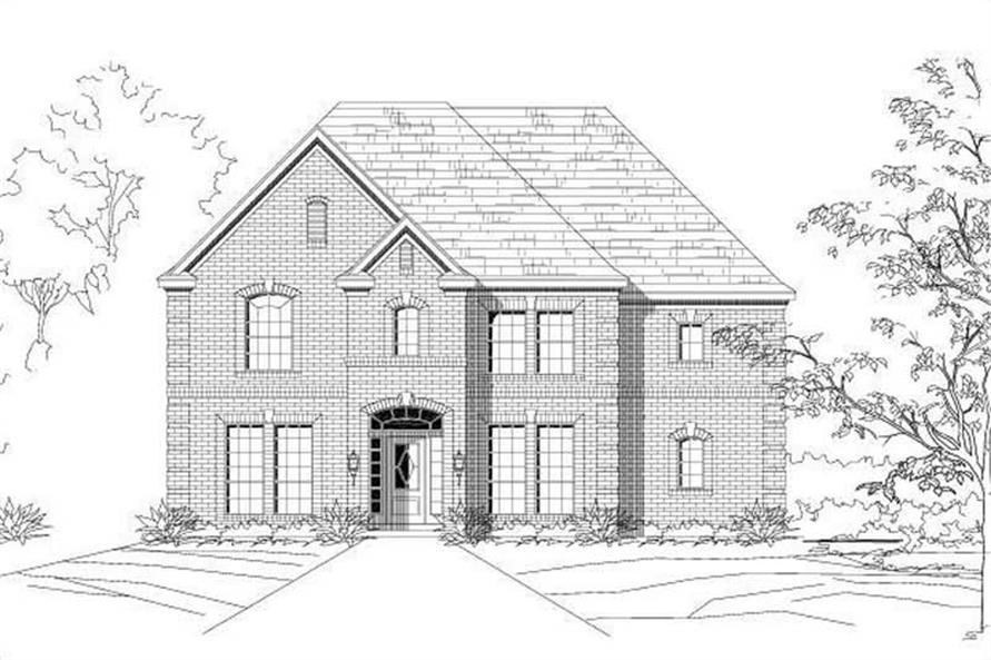 Main image for house plan # 15114