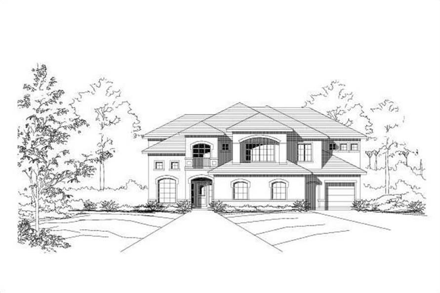 Main image for house plan # 15347