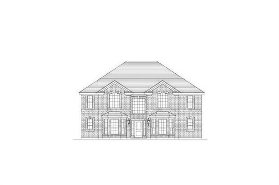 Main image for house plan # 15349