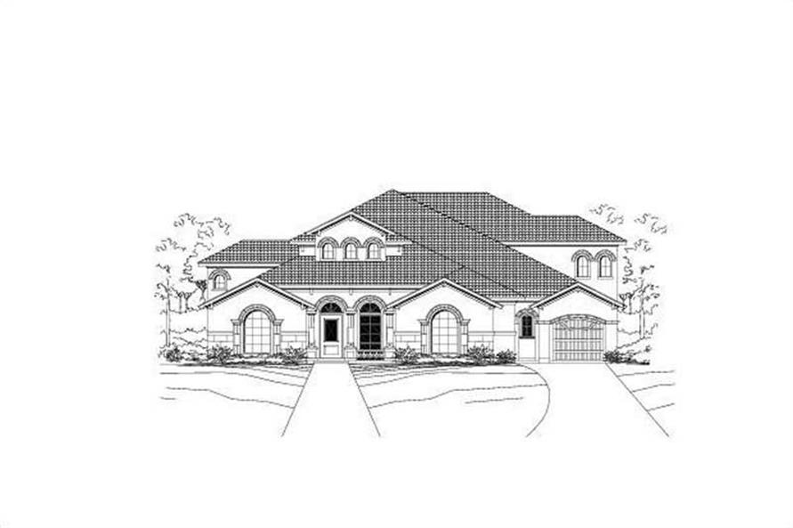 Main image for house plan # 15354