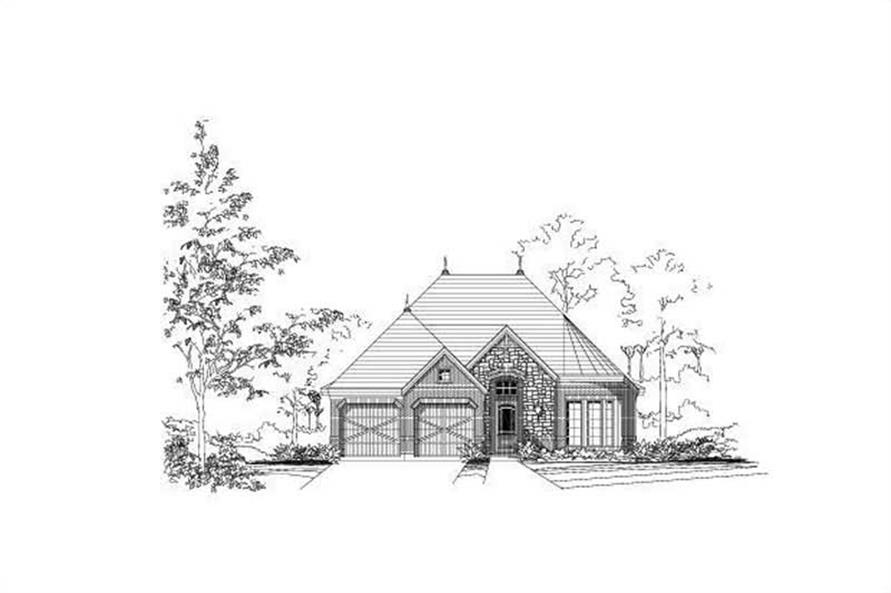 Main image for house plan # 15359