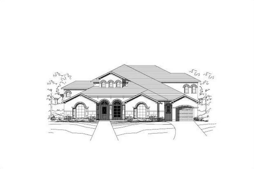Main image for house plan # 15366