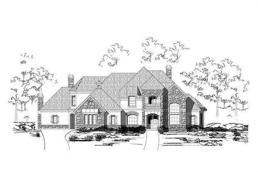 Main image for house plan # 15369