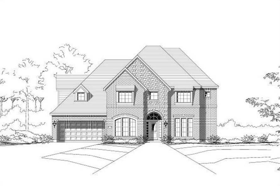 Main image for house plan # 15380