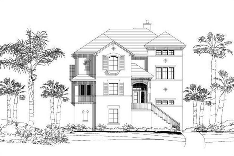 Main image for house plan # 15313