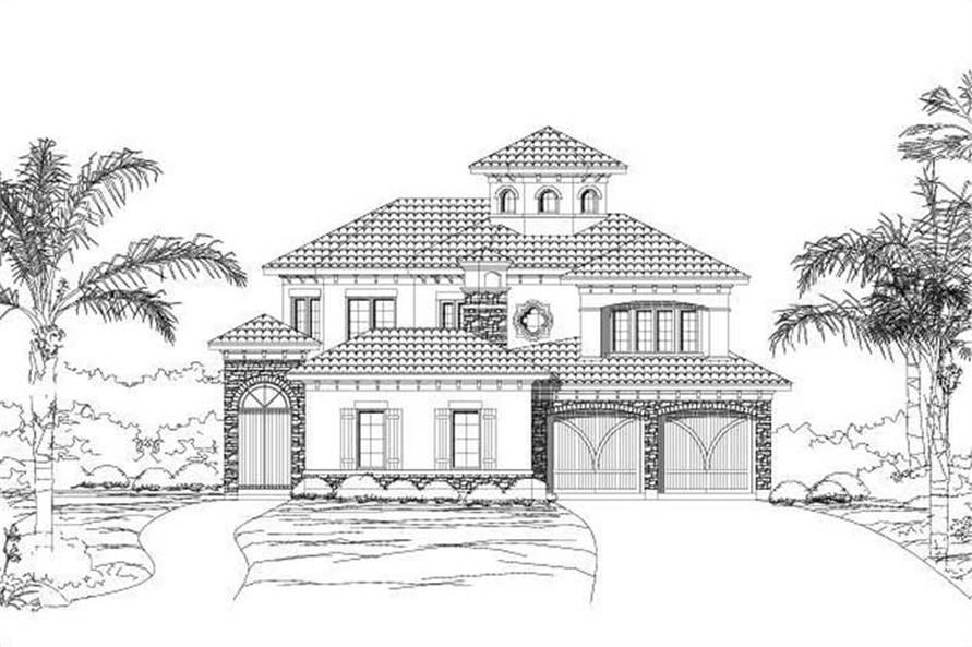 Main image for house plan # 15388