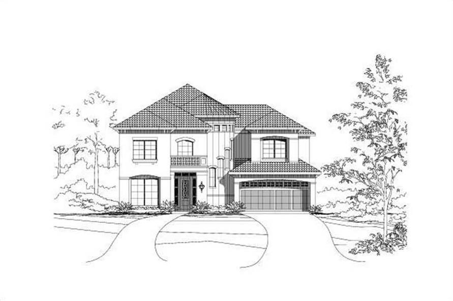 Main image for house plan # 15392