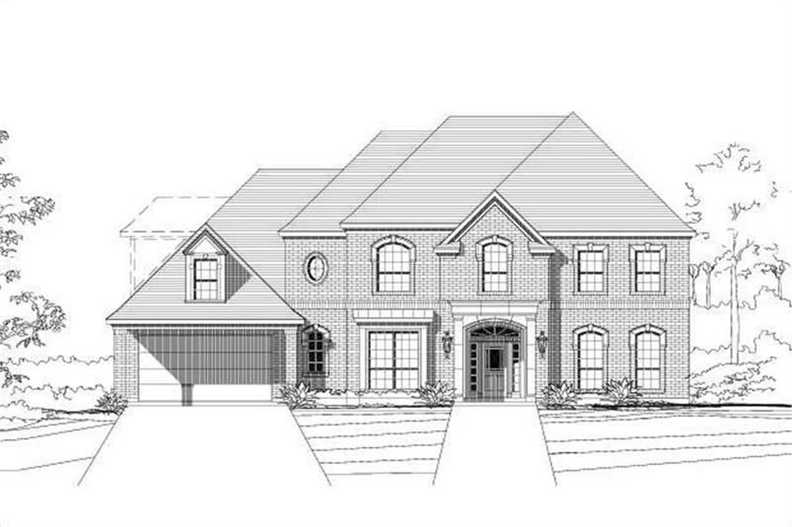 Main image for house plan # 15396