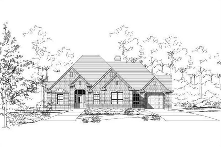 Main image for house plan # 15217
