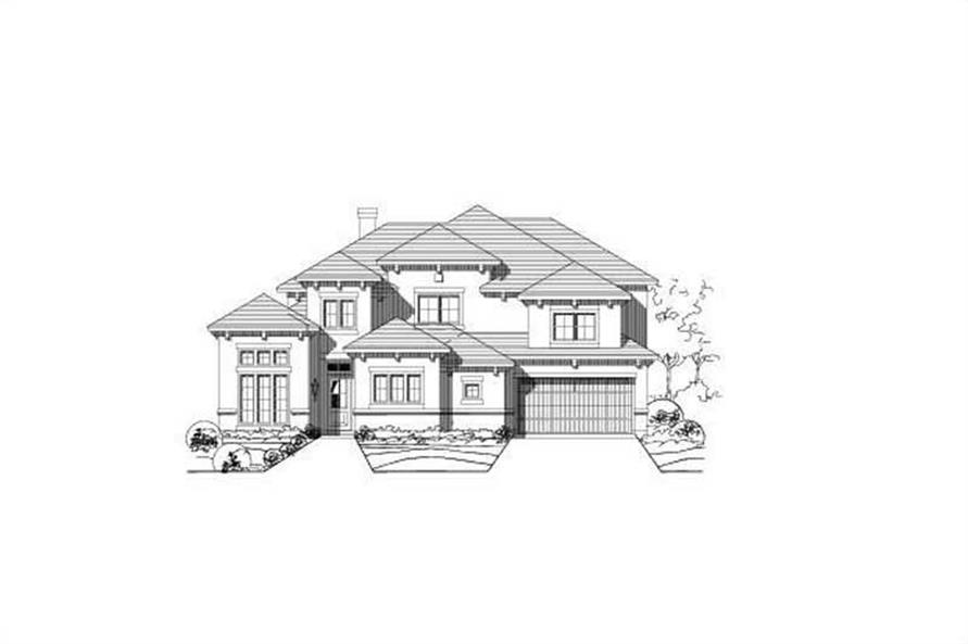 Main image for house plan # 15316
