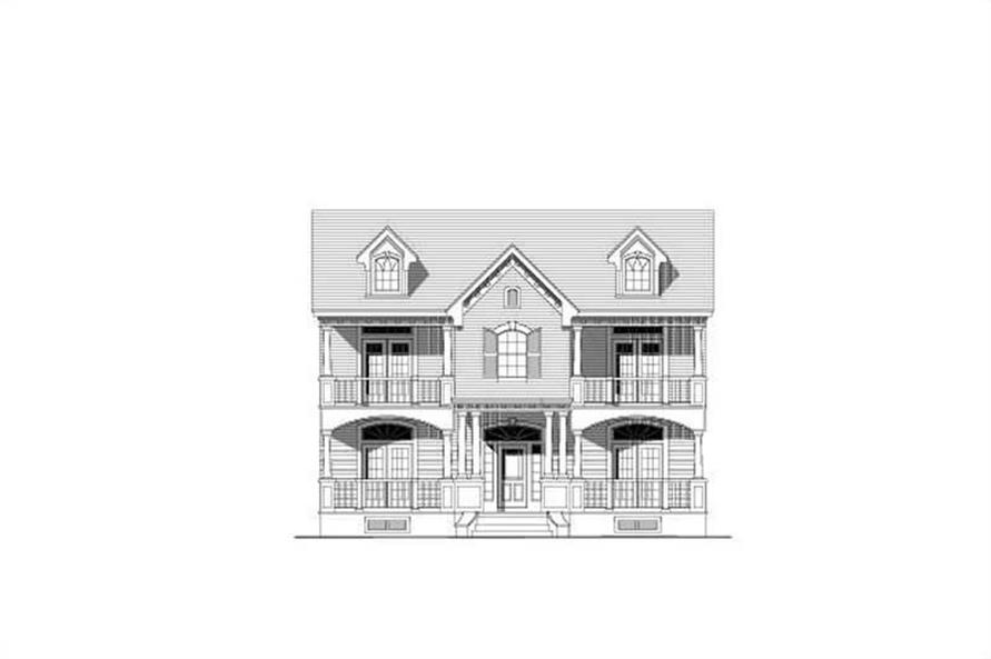 Main image for house plan # 15076