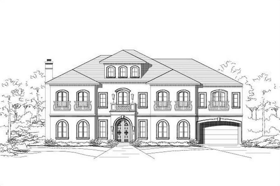 Main image for house plan # 15329