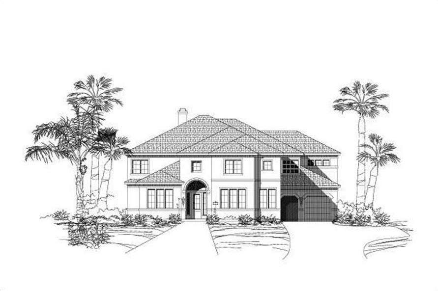 Main image for house plan # 15330