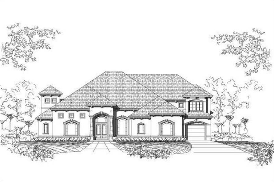 Main image for house plan # 15340