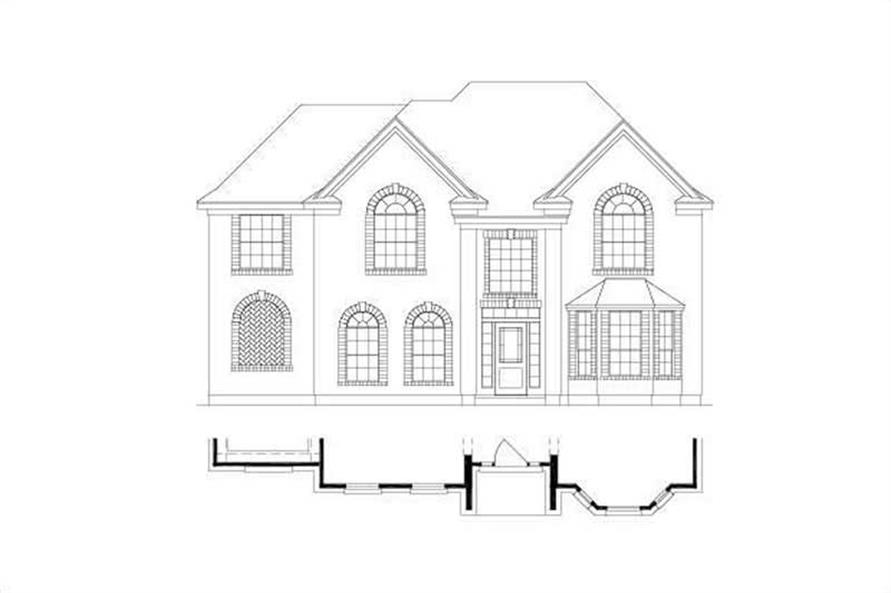 Main image for house plan # 15090