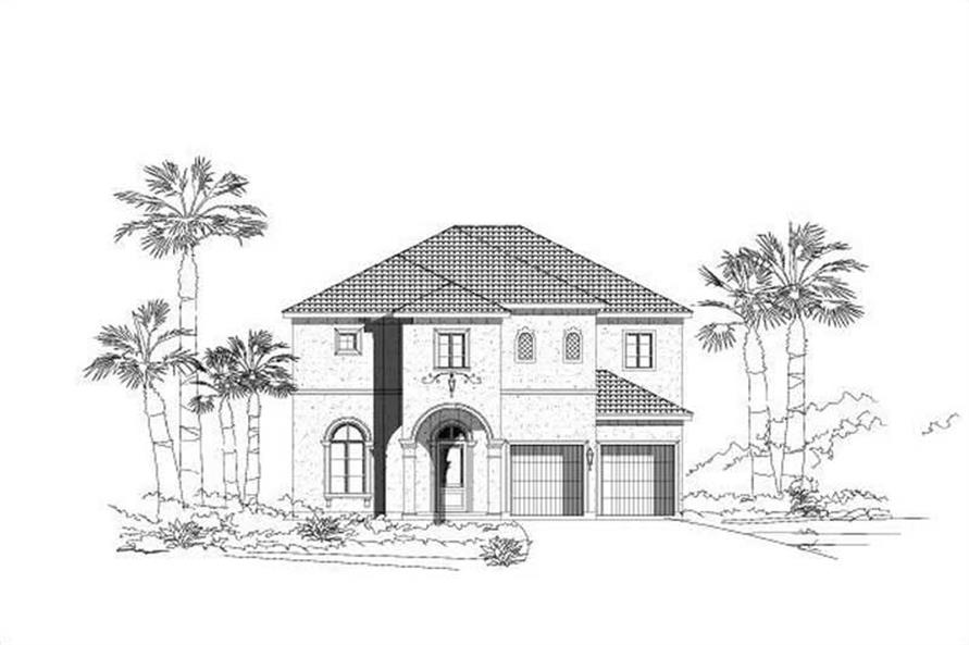 Main image for house plan # 15159