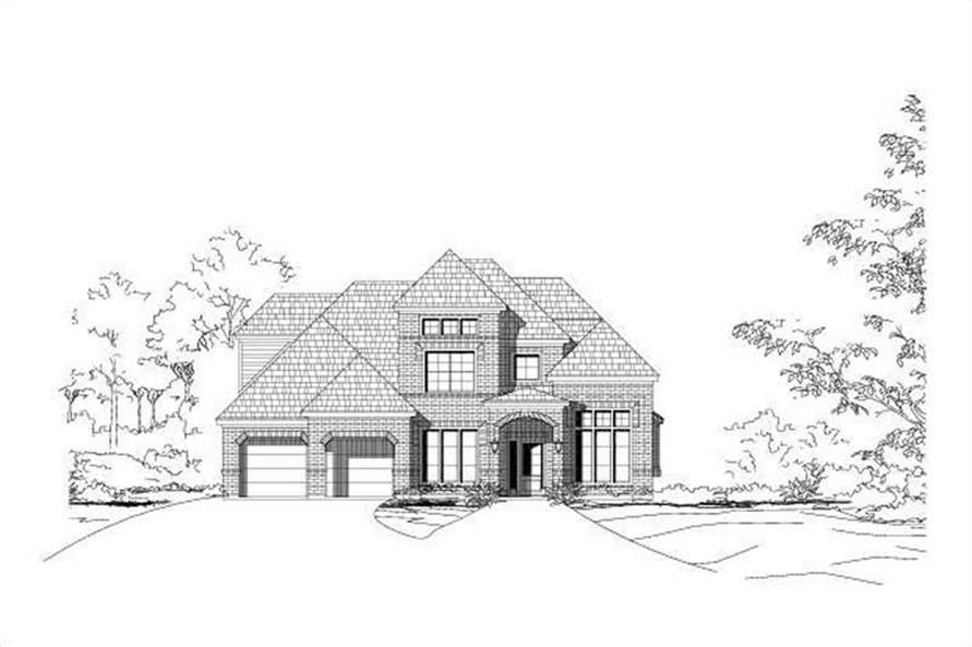 Main image for house plan # 15043