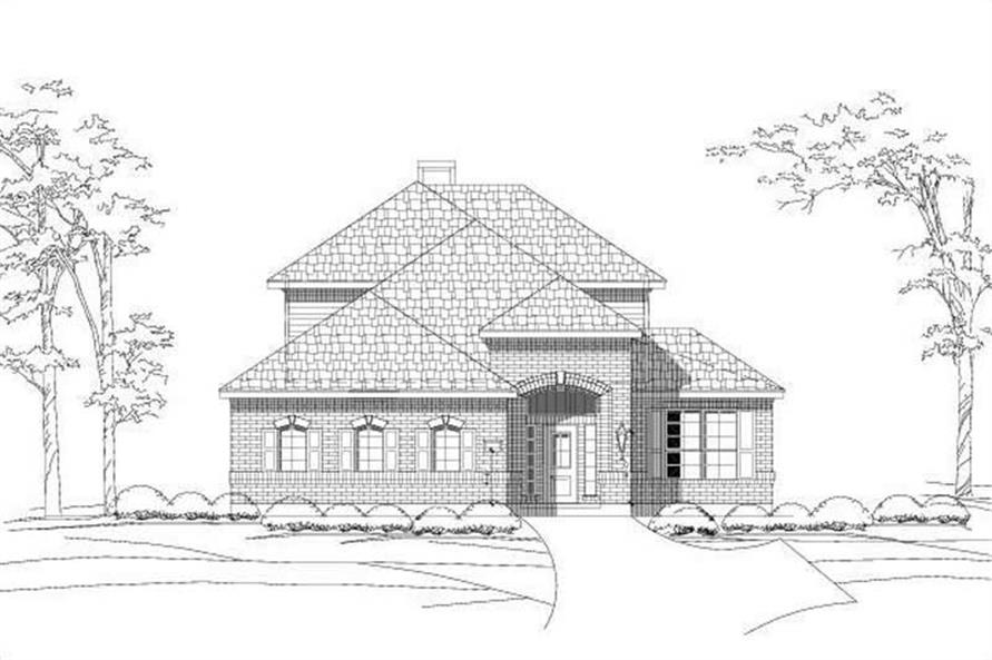 Main image for house plan # 15095