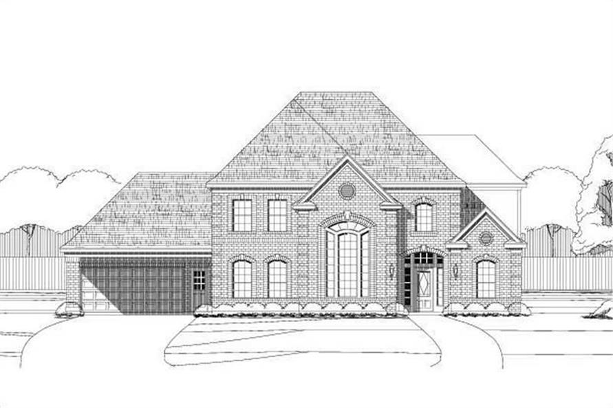 Main image for house plan # 15156
