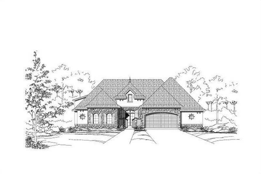 Main image for house plan # 15222