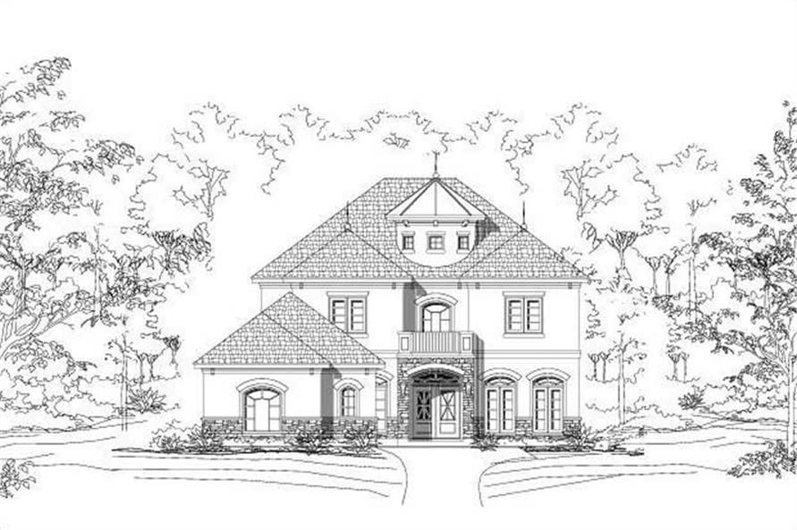 Main image for house plan # 15083