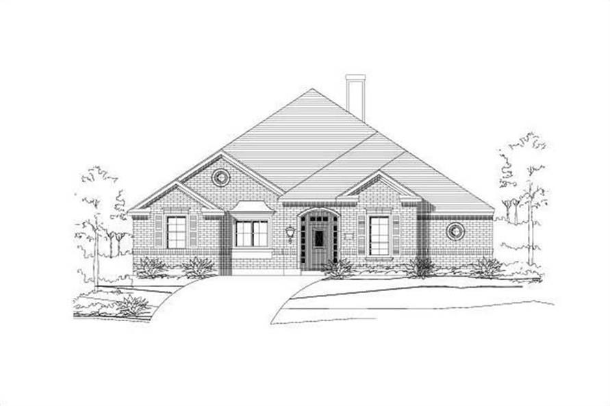 Main image for house plan # 15080