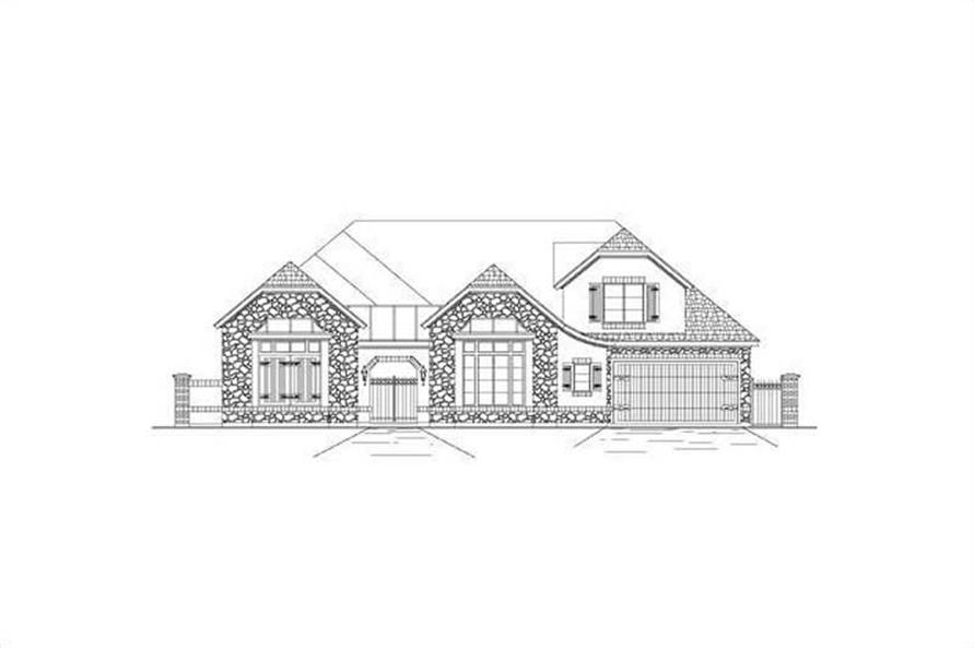 Main image for house plan # 15658