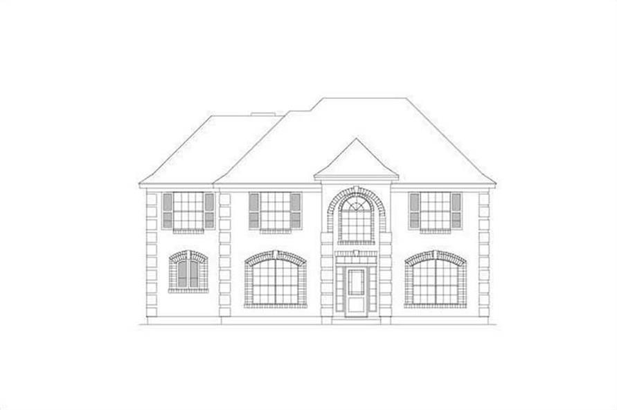 Main image for house plan # 15089