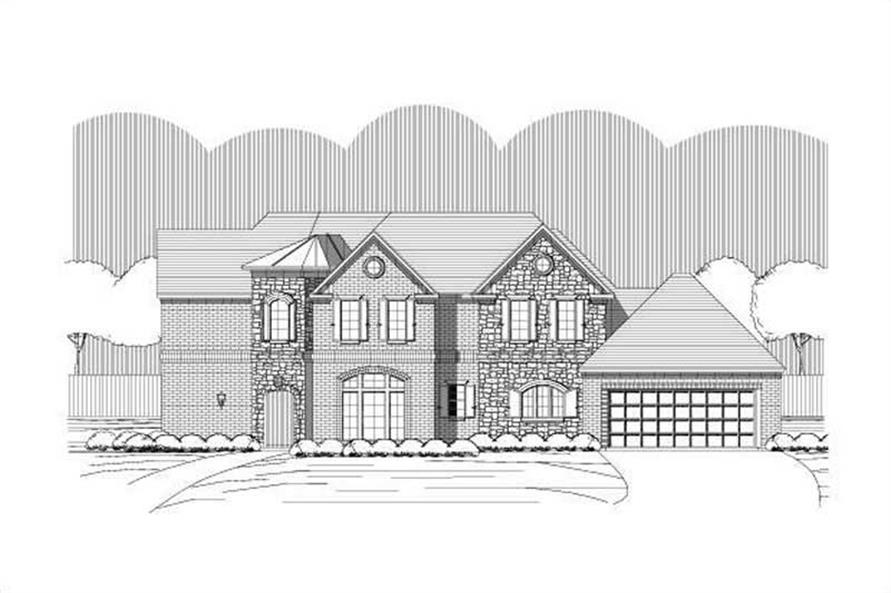 Main image for house plan # 15163