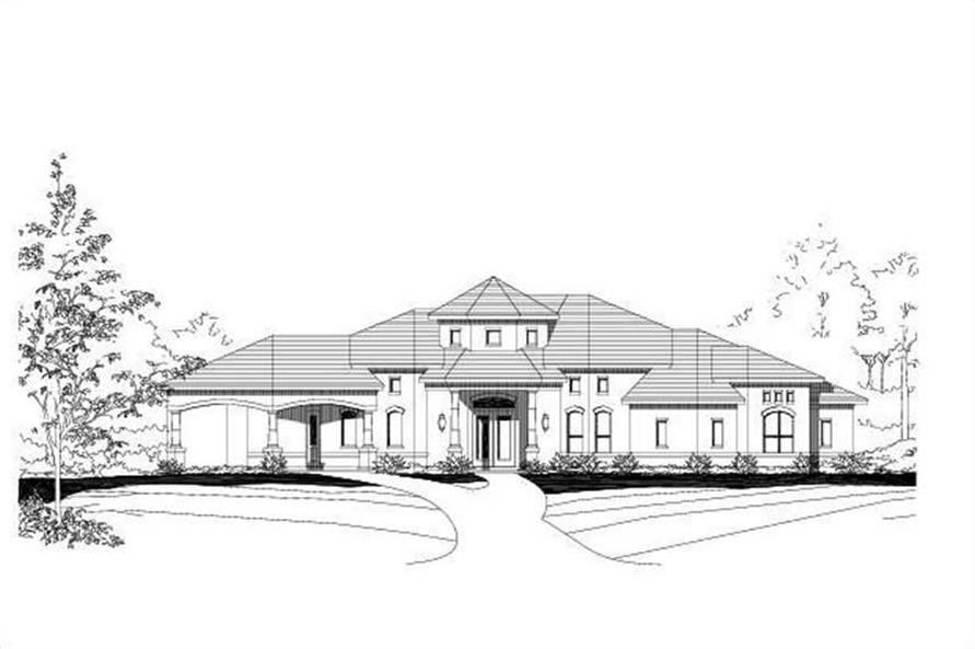 Main image for house plan # 15110