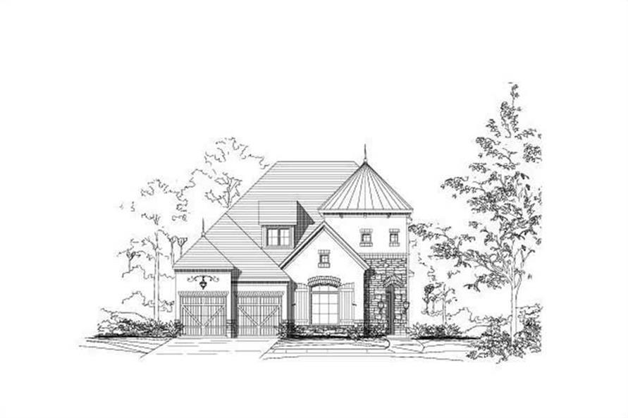 Main image for house plan # 15024