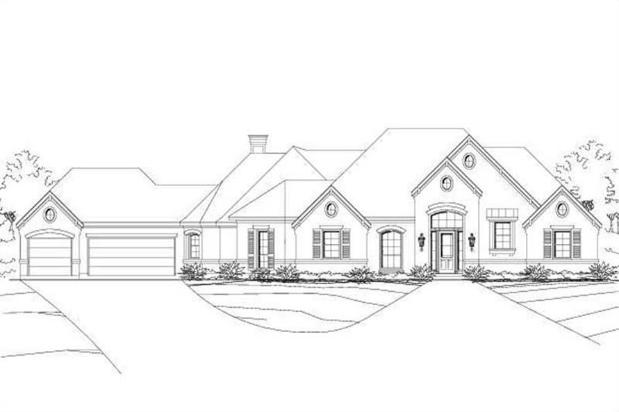 Main image for house plan # 15087