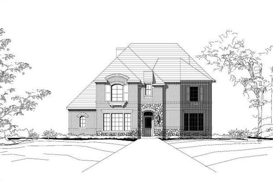 Main image for house plan # 15179