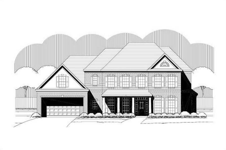 Main image for house plan # 15154