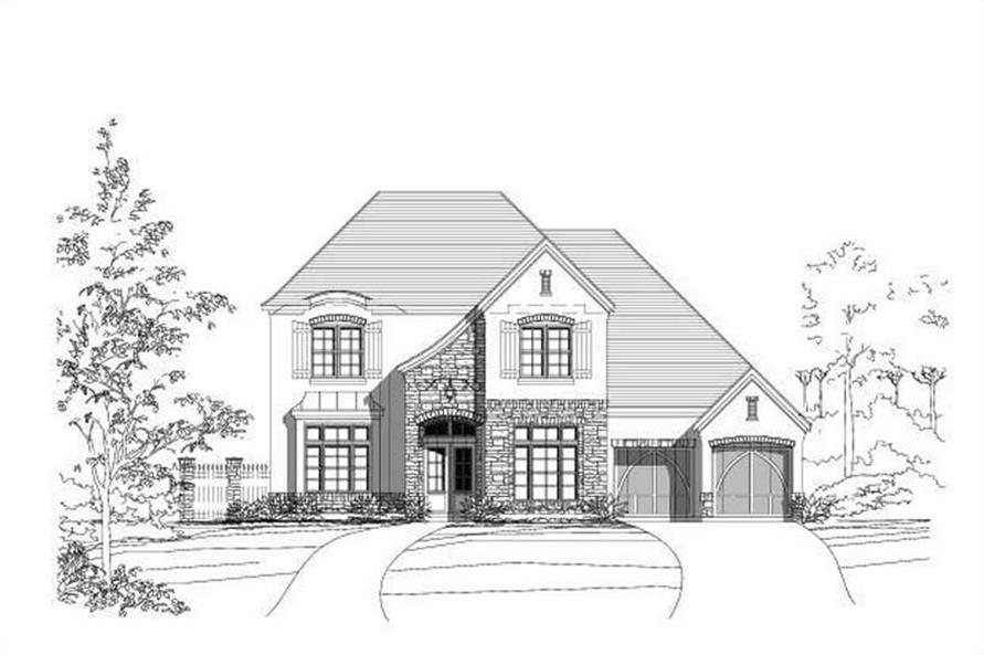 Main image for house plan # 15387