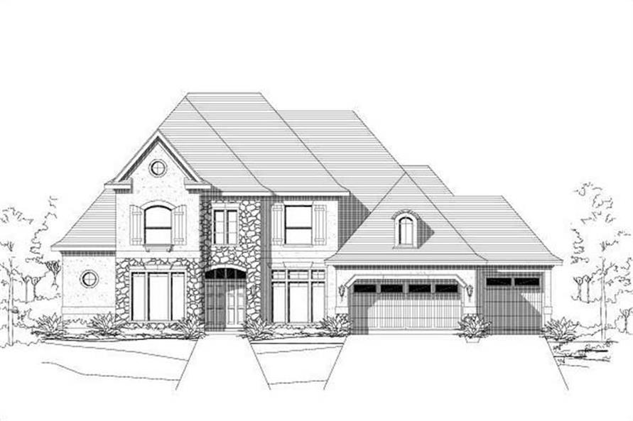 Main image for house plan # 15394