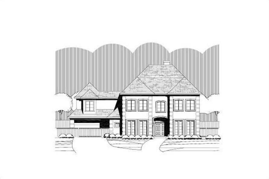 Main image for house plan # 15395