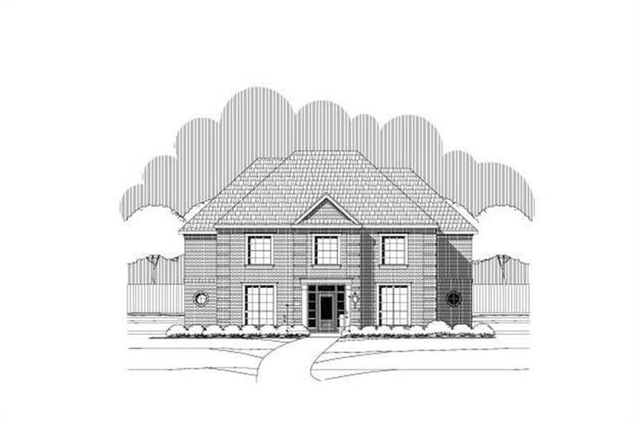 Main image for house plan # 19687