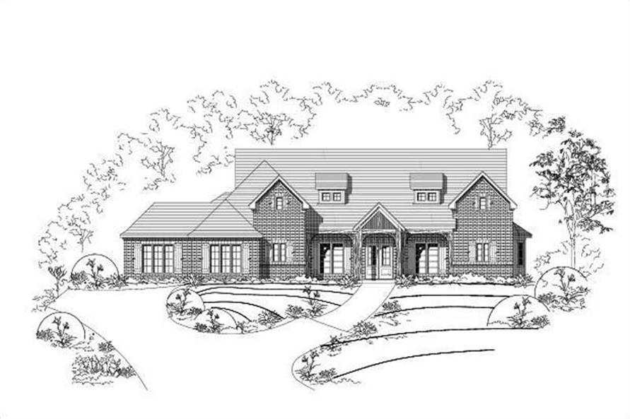 Main image for house plan # 15391