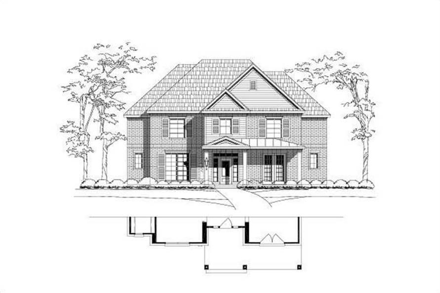 Main image for house plan # 19695