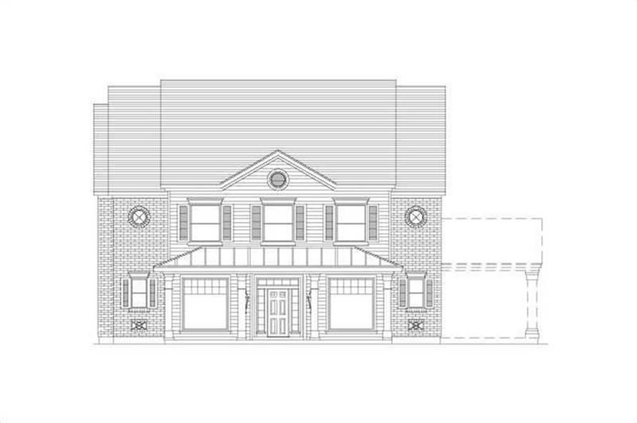 Main image for house plan # 15739